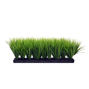 Aluminum Tower Planter with Short Grass