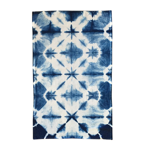 Flour Sack Kitchen Towel Indigo Star - ShiboriLori