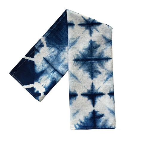 Flour Sack Kitchen Towel Indigo Blue Star