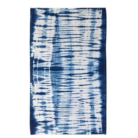 Striped Indigo Flour Sack Tea Towel - ShiboriLori