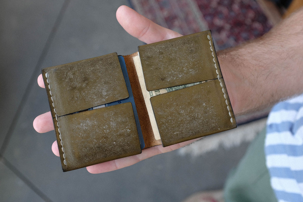 Caleb's Olive Hough Wallet