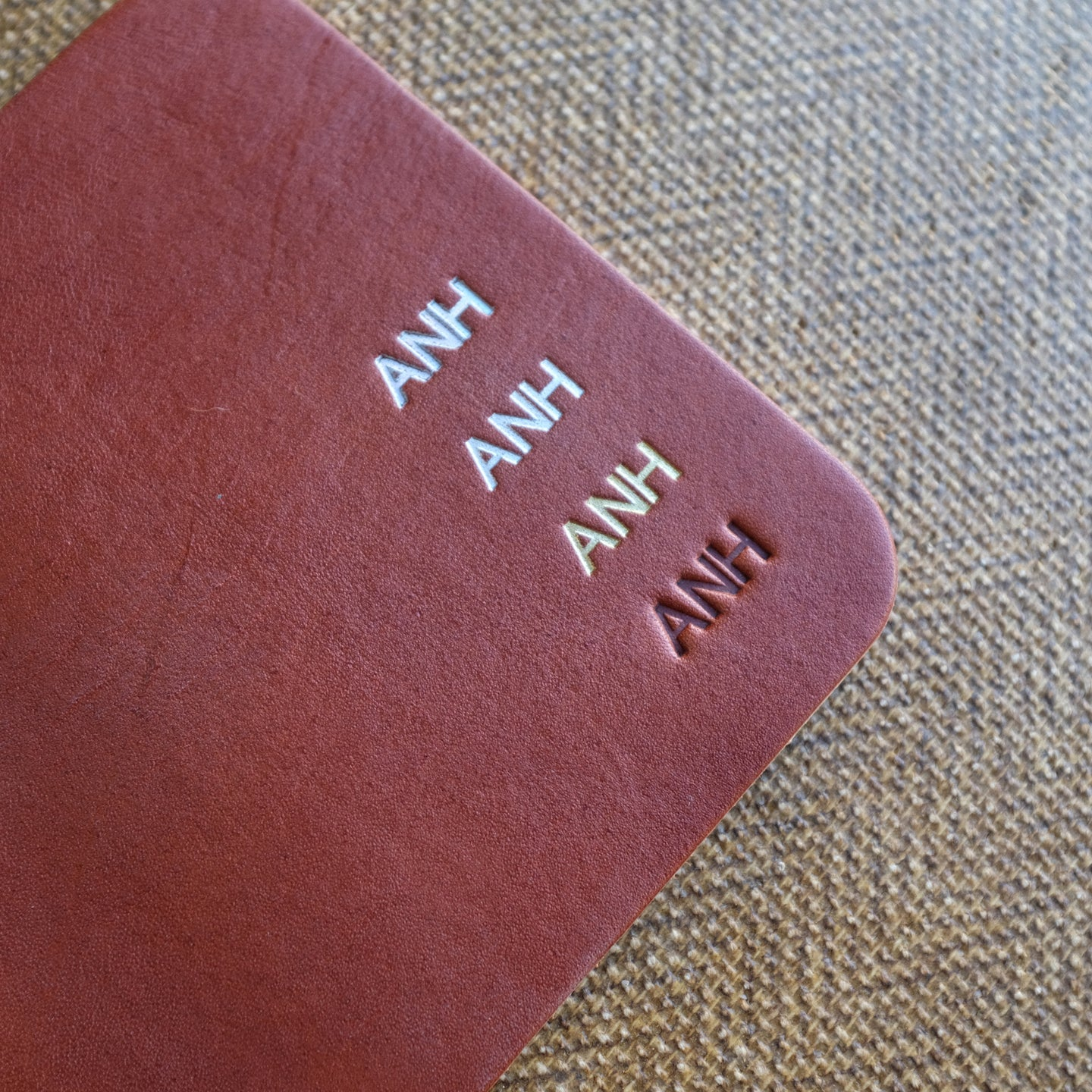 Leather Monogramming