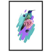 Load image into Gallery viewer, Framed matte paper poster
