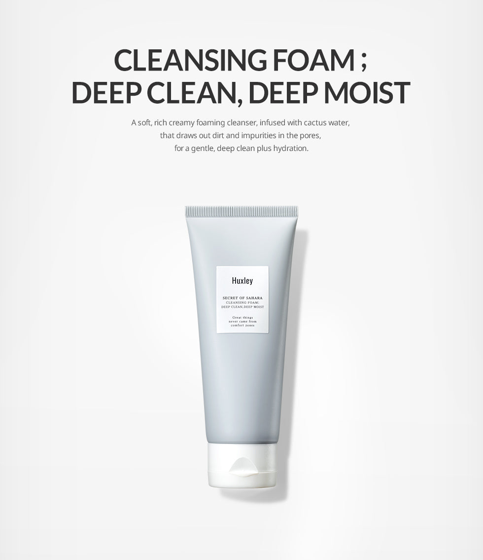 Cleansing Foam Info