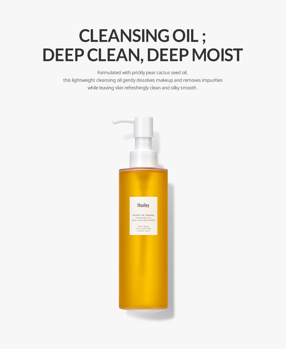 Cleansing Oil Info