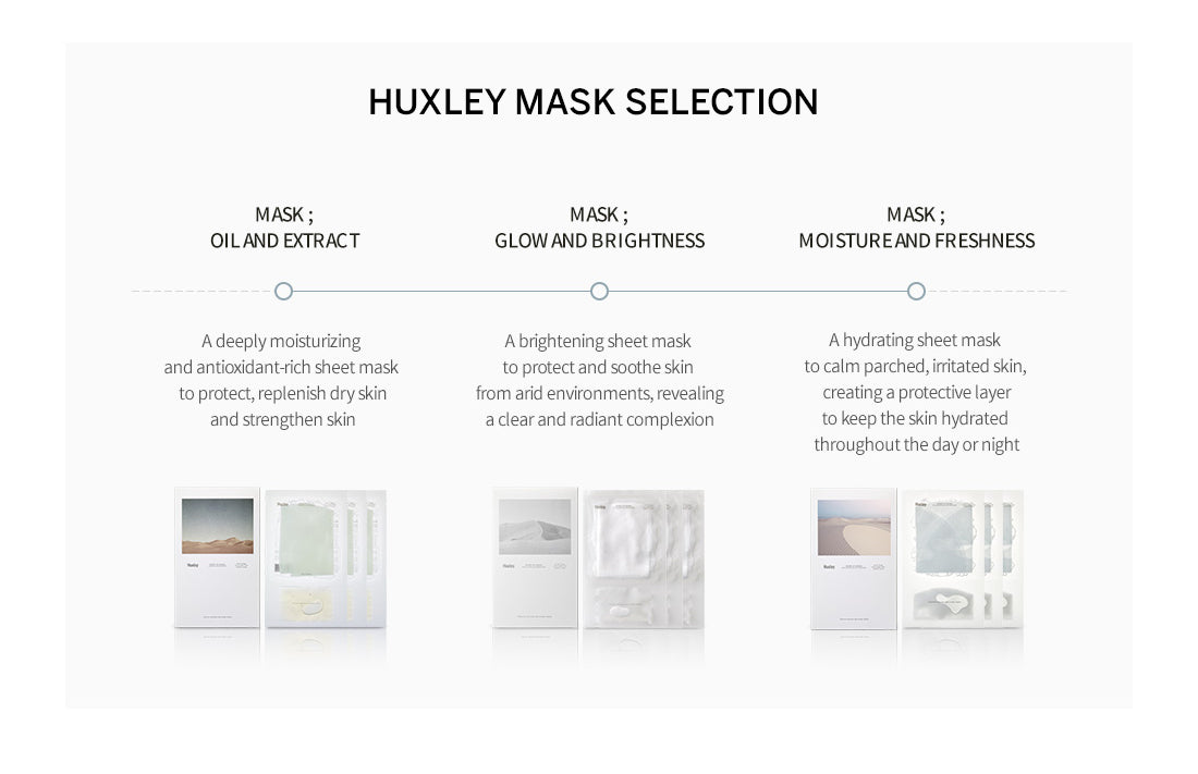 Huxley Mask Offerings