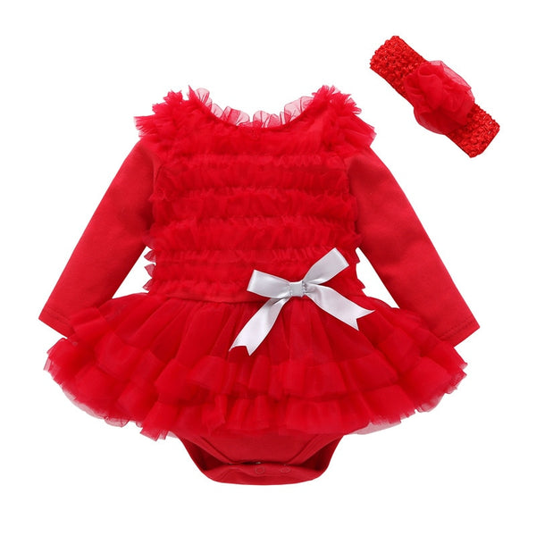 Autumn Baby Infant Long Sleeve Cute Dress