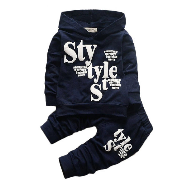 Boys Clothing Cotton Shirt+Pants Suits