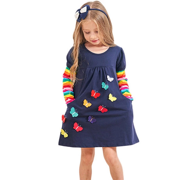 Baby Girls Long Sleeve Winter Dresses