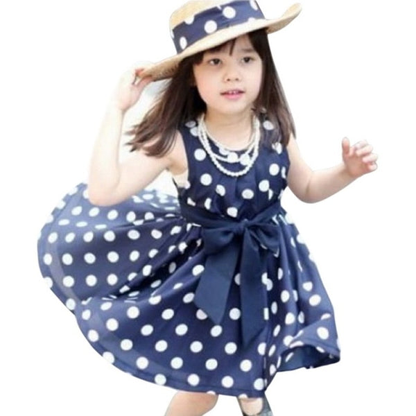 Spring Summer Sleeveless Children Girl Clothes