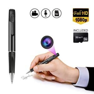 Pen cameras are among the best spy cameras you can get from the market for spying on something