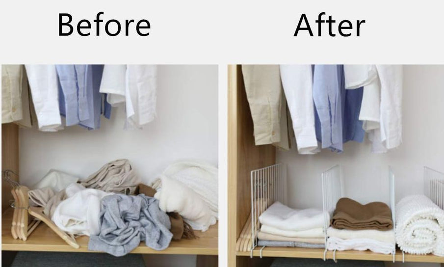 In case you haven't tried this already, closet shelf organizers have the amazing ability to change your storage habits and, more importantly, to help you be organized even if it's not in your nature. A proper organizing system and enough time to...