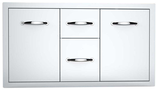 Organize with sunstone a lpcdd42 42 inch multi storage warming and cooking drawer tank tray combo