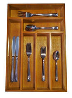 Purchase drawer organizer this durable wood cutlery tray is large enough for your silverware utensils or gadgets by ja kitchens