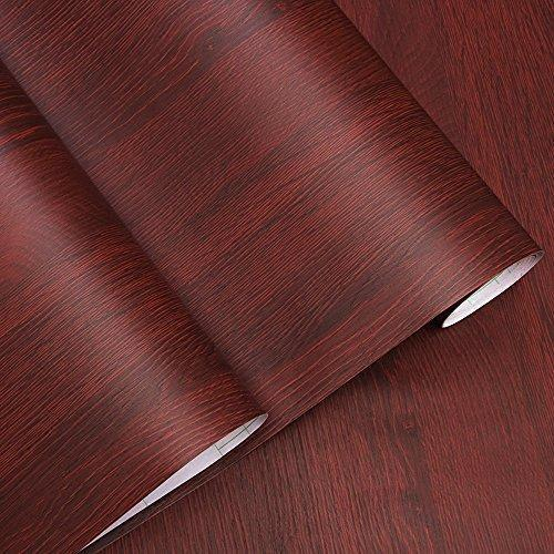 On amazon decorative faux wood grain contact paper vinyl self adhesive shelf drawer liner for bathroom kitchen cabinets shelves table arts and crafts decal 24x117 inches