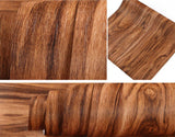 Discover f u walnut wood grain contact paper self adhesive shelf liner covering for kitchen cabinets doors drawers countertop arts and crafts 23 5x78 inch
