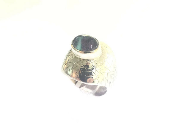 NZ Multigem Stone Dome Ring