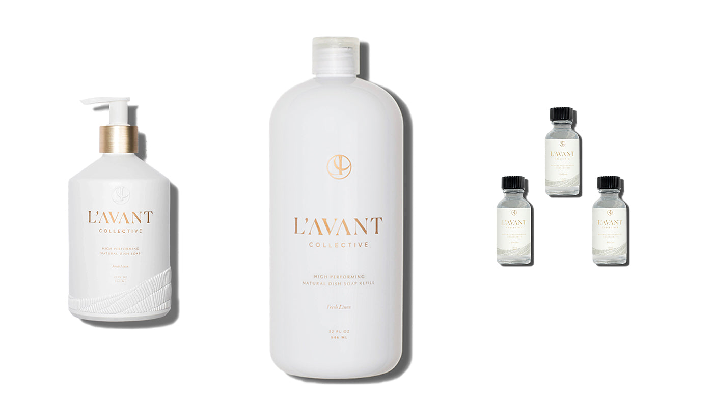 Coconut - plant based cleaners