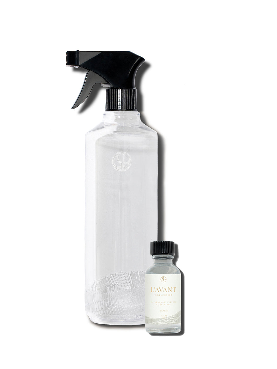 Multipurpose Surface Cleaner Trial Bundle with Empty Recycled Plastic Bottle and and 1 Multipurpose Concentrate