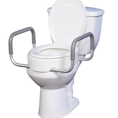 Raised Toilet Seats & Safety Frames