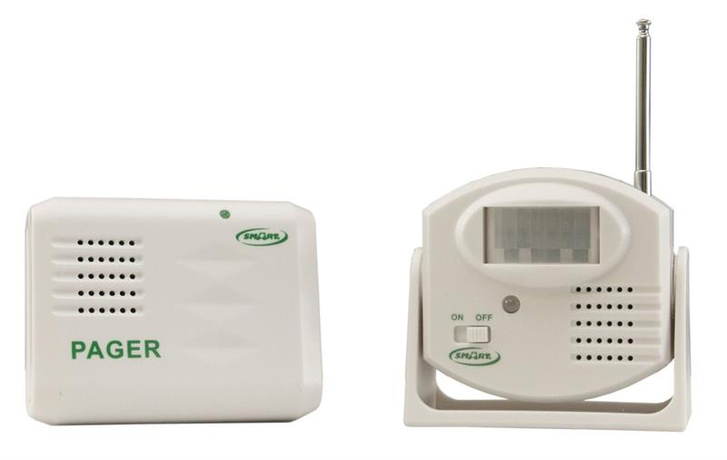 Package 19 - Motion Sensor & Pager (Alarm Away from Patient) - With AC Adapter (+$9.95)