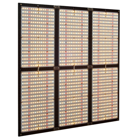 LED Quantum Board 720W Full Spectrum LED Grow Light with Samsung LM281B+ Diodes & Dimmable Driver