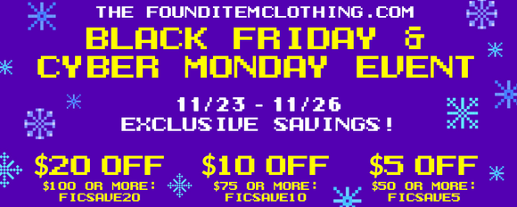 Exclusive Savings Black Friday through Cyber Monday!