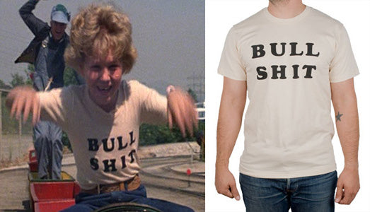 """Have You Seen A Five-Year-Old Boy, Blond Hair And He's Wearing A T-Shirt That Says 'Bullshit' On It?"""