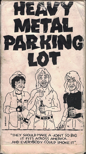All The Tees from Heavy Metal Parking Lot: One Man's Obsession
