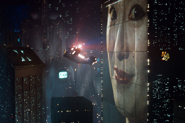 Bladerunner kinda got advertising right.