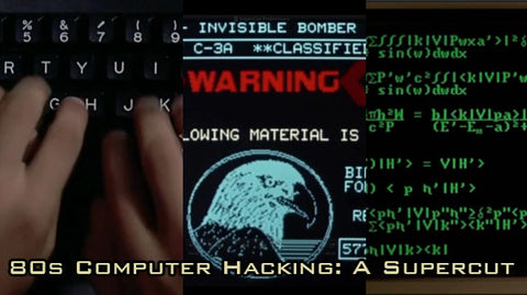 80s Computer Hacking: Supercut