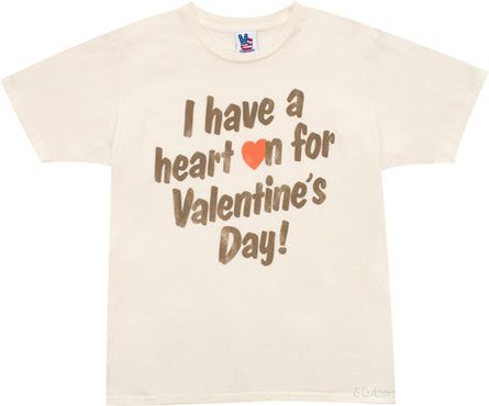 have a heart on valentines day shirt