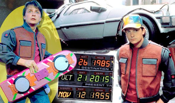 McFly with future tech