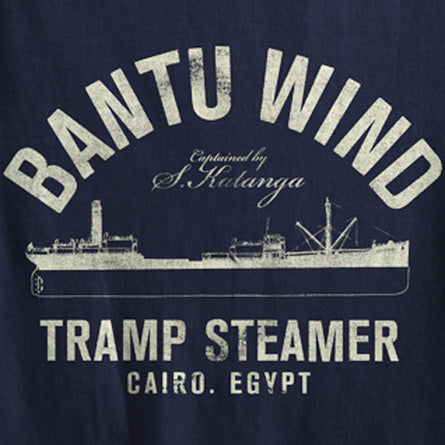 Bantu Wind tramp Steamer indiana Jones Raiders of the lost Ark Detail