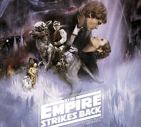 Star Wars Empire Strikes Back 80s Movie