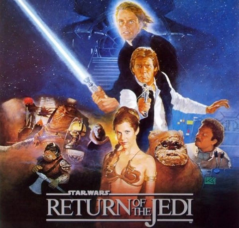 Star Wars Return of the Jedi 80s Movie