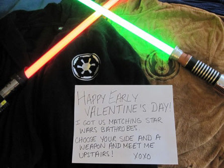 star wars valentines day love