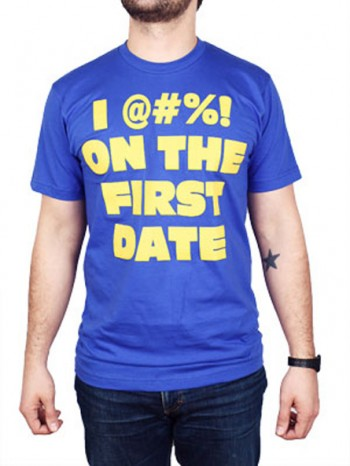 Tropic Thunder On the First Date Shirt