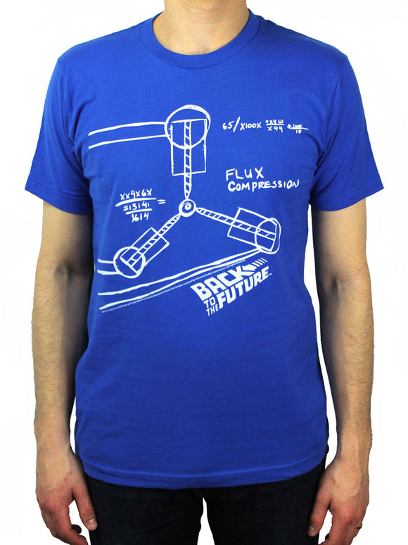 Flux Capacitor Sketch Shirt