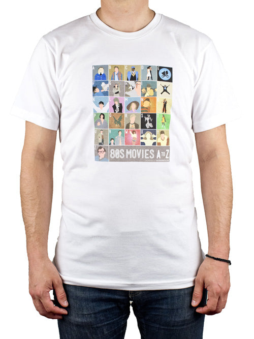 1980s Film Alphabet Shirt