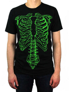 Spinal Tap Green Skeleton Shirt Front
