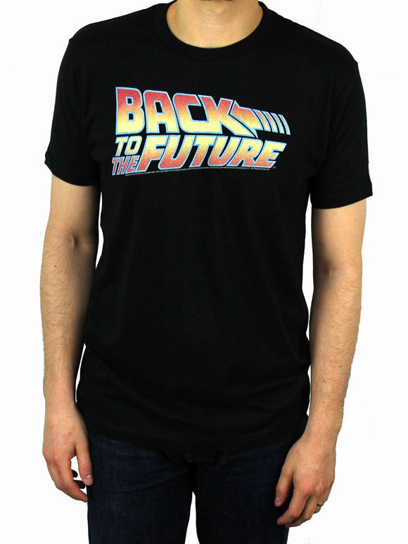 Back to the Future Logo T-Shirt