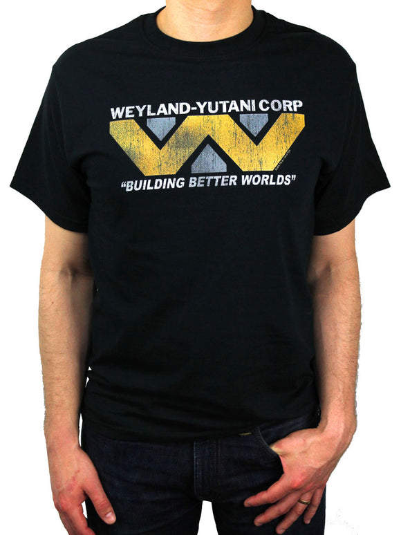 Aliens Weyland-Yutani Shirt (Yellow)