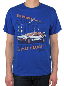 Back to the Future Lightning Strikes T-Shirt