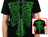 Spinal Tap Green Skeleton Shirt Both SIdes