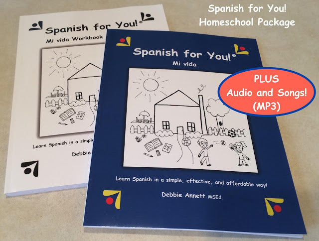 Spanish for You! Homeschool Package
