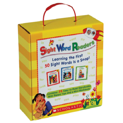Sight Word Readers Parent Pack: Learning the First 50 Sight Words is a Snap! Only $11.49!! (Reg. $22.99)