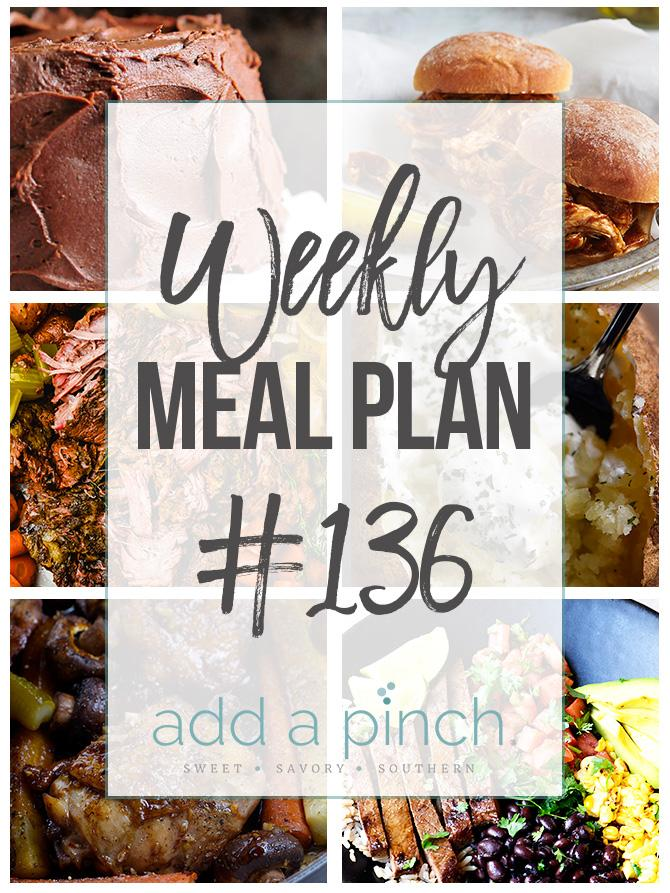 Sharing our Weekly Meal Plan with make-ahead tips, freezer instructions, and ways to make supper even easier!