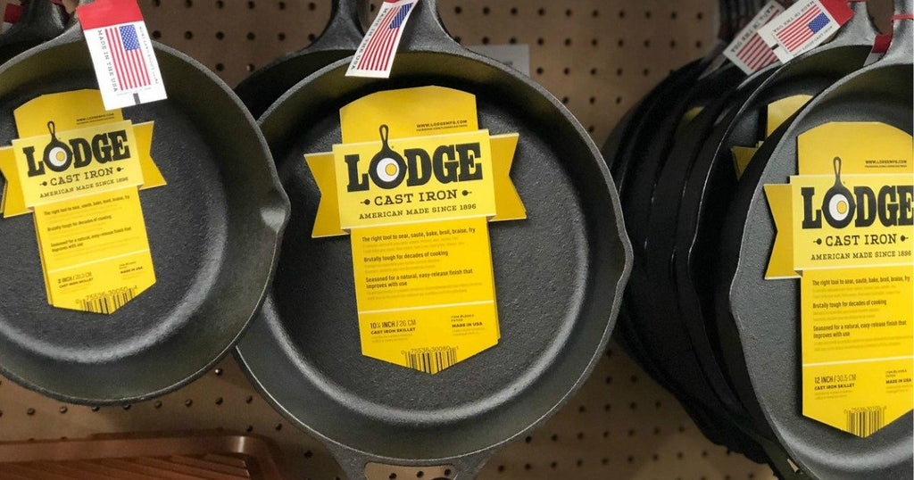 FIVE Lodge Cast Iron Cookware Items Only $60.76 Shipped (Regularly $100.76)