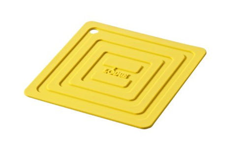Lodge AS6S21 Silicone Square Pot Holder, Yellow